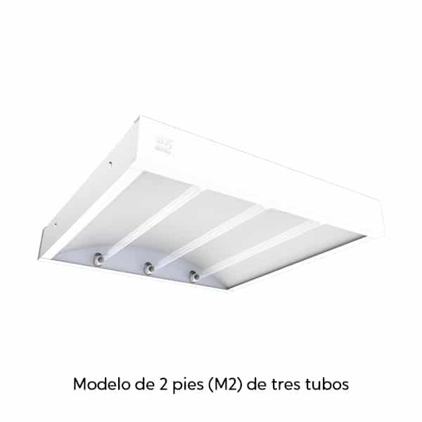 Luminaria desinfectante UVC-LB - SUPRA DESARROLLOS