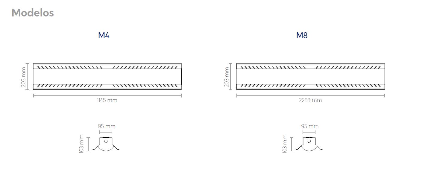 Medidas modelos HLX - SUPRA DESARROLLOS